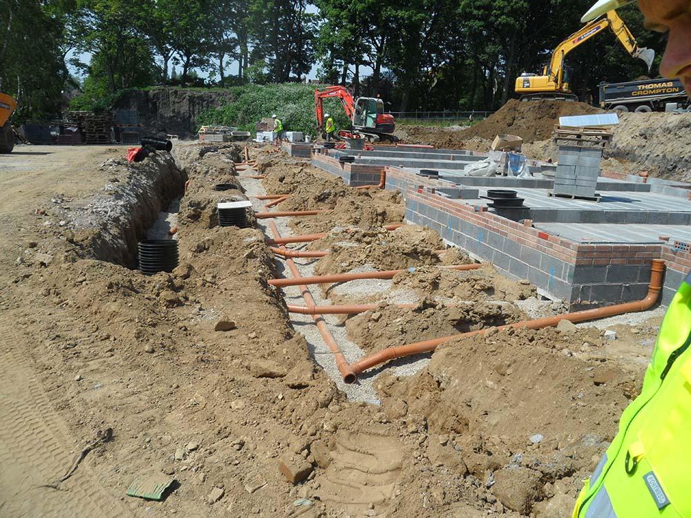 Plot Drainage - B Gallagher Construction