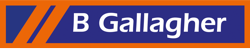 B Gallagher Logo