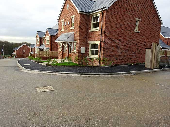 Cookridge, Chartford Homes site photo 1