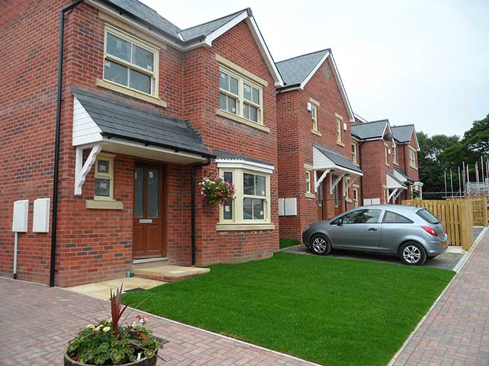 Cookridge, Chartford Homes site photo 2