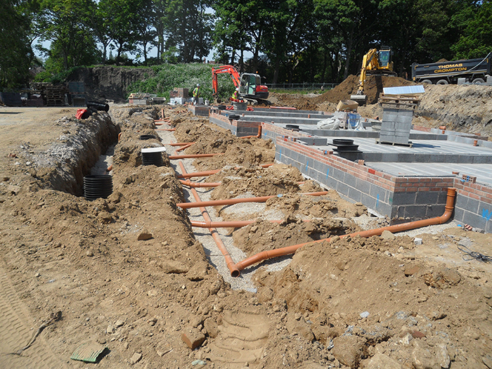 Cookridge, Chartford Homes site photo 5